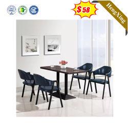 Restaurante Salon de madera Sofá comercial Mesa Muebles de Comedor mesa de café