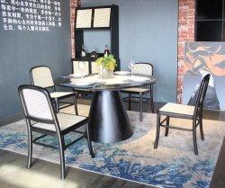 Commercieel modern Restaurant meubilair Zwart Houten eetstoelen