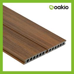 Schede esterne di Decking della coestrusione composita di plastica di legno all'ingrosso di WPC