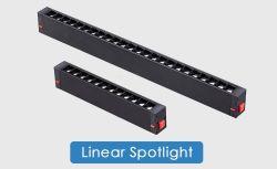 إنارة جنزير LED غائرة بإطار مربع بقوة 12 واط وثلاثية الأطوار مخصصة لغرفة العرض و معرض تجاري