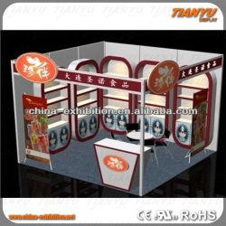 Exposição a luz personalizados Booth Projeto e fabricação