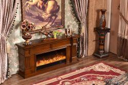 Aquecedor Eléctrico de madeira maciça de alta qualidade+Lareira MDF 343s F2