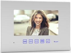 Doorphone-White 7 pouces Moniteur d'intérieur de rétroviseur