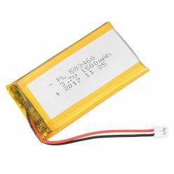 La mejora de 1500mAh 3.7V recargable de Litio polímero 583460 Las baterías de ión de litio