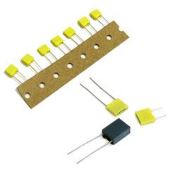 De Miniatuur Gemetalliseerde Condensator van uitstekende kwaliteit van de Film van de Polyester