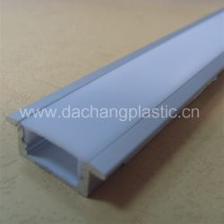 A tampa do difusor de luz de acrílico para perfil de LED de alumínio