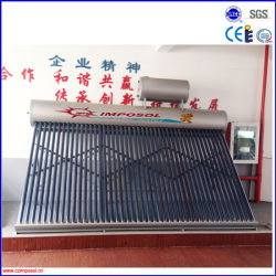 acier inoxydable de qualité supérieure sous pression OEM chauffe-eau solaire