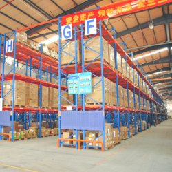 Estanterías de acero industrial acciones en China