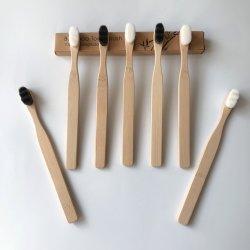Las comodidades del hotel Super Bambú Cepillo de dientes de cerdas suaves
