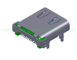 Port USB de type C 3.1 prise connecteur d'alimentation borne de connecteur PCB 20 Gbit/s Type de câble 10 Gbit/s C