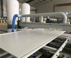 O PVC plástico totalmente automático WPC Placa máquina extrusora de folha de espuma