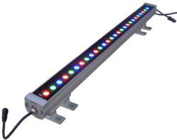 Changement de couleur RVB 24W Washerlight Mural LED pour la basse tension