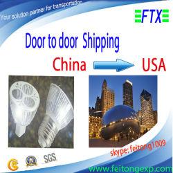 De Luchtvracht van de Vrachtvervoerder van het vervoer Van Shenzhen/Shanghai/Guangzhou aan de V.S.