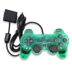 Nouvelle version Transparent PS2 contrôleur de jeu