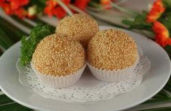 De Ballen van de Rijst van sesamzaden