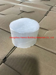 Macro fibra sintética para el hormigón