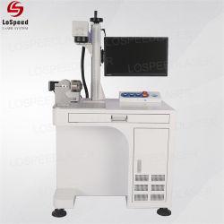 На заводе прямой продажи 10W 20W 30Вт ручной мини-Fibre станок для лазерной маркировки Для отметки всех металлов с 100000 часов срок службы