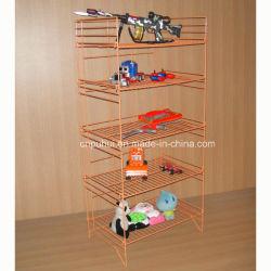 Розничный магазин плоской пакетом обновления 5 яруса складной стол сеткой полки (PHY351)