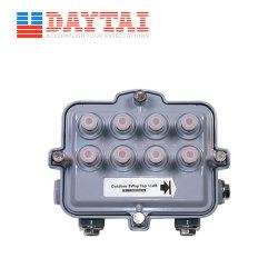 مقسم CATV Sub-Trunk ذي 8 اتجاهات ذو صندوق أمتعة فرعي CATV