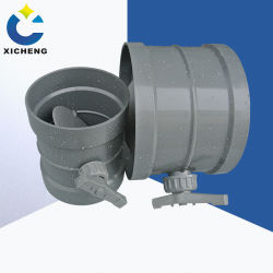 Cn высокое качество промышленных воздуховод контроллер ручной клапан, HVAC воздухопровод блока заслонки впуска воздуха