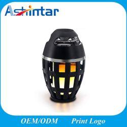 2 в 1 СВЕТОДИОДНЫЙ ИНДИКАТОР пламени беспроводной динамик портативный мерцания лампа атмосфера HiFi Stereo Mini Bluetooth динамик