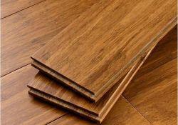 Mano raschiata / carbonizzato / Strand Woven Pavimentazione di bambù