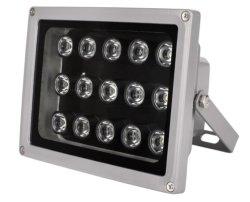 مصباح أشعة تحت الحمراء مقاوم للمياه بقدرة 150 م مع نظام التحكم في الإضاءة بالأشعة تحت الحمراء بقدرة 10 حزم (10 حزم) مصابيح LED ومصابيح الليزر 5PCS