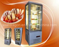 Seitliche aufrechte 3 Eiscreme-Bildschirmanzeige-Glasgefriermaschine (TL-3)