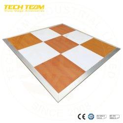 Fase di legno Dance Floor della fase di alluminio di Dance Floor con il bordo di alluminio