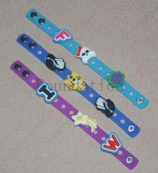 Bracelet en silicone de divers produits en caoutchouc