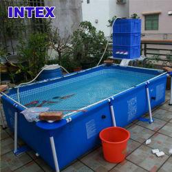 het Zwembad van Intex van de Binnenplaats van de Familie van de Rechthoekige van de Buis van 260*160*65cm van het Rek van het Stootkussen van de Pool Super Grote Kinderen van de Steun