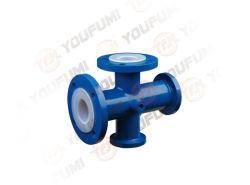 Corrosion MediumのためのPTFE Lined Reducing Cross