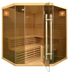 Portable Tradition Family Indoor Steam Sauna for 5 Person