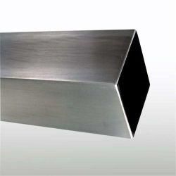 304 321 tubo in lega di acciaio inox quadrato/rettangolare in acciaio inox con spazzole da 316L, con poli a specchio, in tubi senza saldatura o saldati