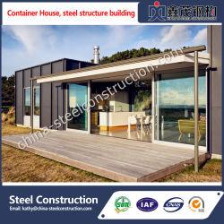Conteneur de Camp maison avec la décoration intérieure et Roues mobiles