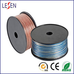 Câble haut-parleur transparent pour les appareils audio/haut-parleur/, certifiées CE, de matériel électrique