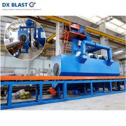 Passage de tuyaux en acier si la Machine de sablage /grenaillage de précontrainte de la machine pour la surface du tube