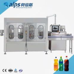 Полностью автоматическая газированных напитков заполнение линии для обработки питьевой соды напитки машины
