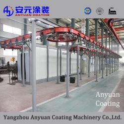 Machine de peinture en poudre du radiateur en aluminium