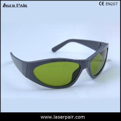 occhiali di protezione di sicurezza del laser 740-1100nm per Alexandrite, diodi, ND: Pagina protettiva 55 di vetro di YAG