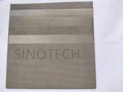 高品質の6層によって焼結させるステンレス鋼の金網かフィルター網または金属の網の工場