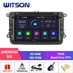 Четырехъядерные процессоры Witson Android 9.0 для VW Jetta/Tiguan/Passat встроенные функции БОРТОВОЙ СИСТЕМЫ ДИАГНОСТИКИ