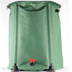 Vert en plastique de réservoir d'eau de pluie en PVC de fourreau seau d'eau