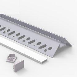 Wand-Profil-Aluminiumkanal-Diffuser (Zerstäuber) für Decke und vertiefte Beleuchtung