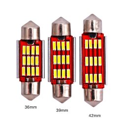 Светодиодная лампа пальчикового типа Evitek 4014-12SMD Canbus автомобильная светодиодная лампа для чтения освещение, Фонарь двери, потолочный фонарь, задний фонарь