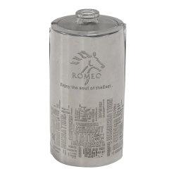 Aço inoxidável/alumínio/cobre/Cobre/Metal Stick etiqueta/logotipo para o copo de vidro/frasco