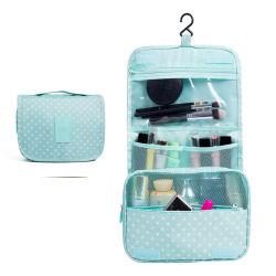 Femmina portatile di corsa del poliestere che appende il sacchetto cosmetico della lavata di memoria del sacchetto