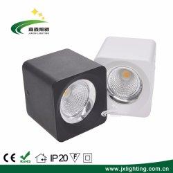 正方形LEDの穂軸の屋内背景の壁、商業ショーケースのための表面によって取付けられるDownlightの据え付け品