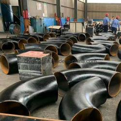 API углеродистая сталь/ Ss черный мягкой стали фитинги трубы из нержавеющей стали СЭЗ сшитых трубный фитинг 45 или 90 градусов LR или SR колено