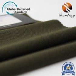 75D&300d Polyester Spandex de sarga estirar la escalada de tela de reciclaje de RPET
